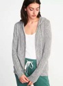 Relaxed Plush knit Sleep Hoodie