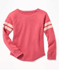 Thermal Knit Raglan Tee