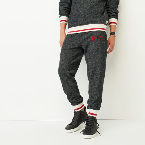Slim Sweatpant with flocking Logo