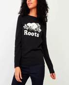 Long sleeve T-shirt with flocking