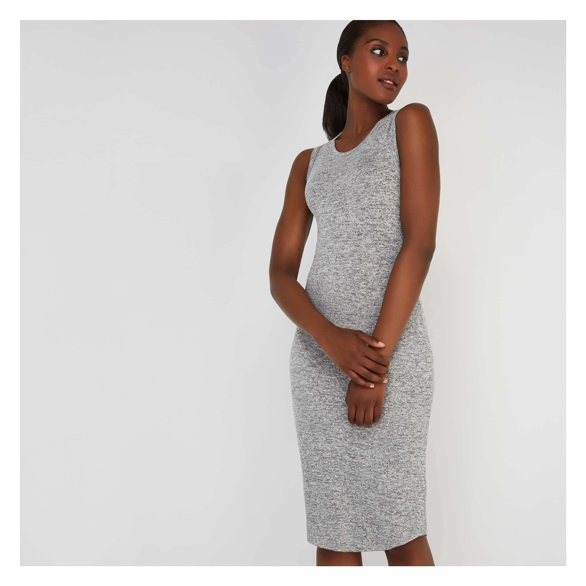 Hacci sleeveless Dress