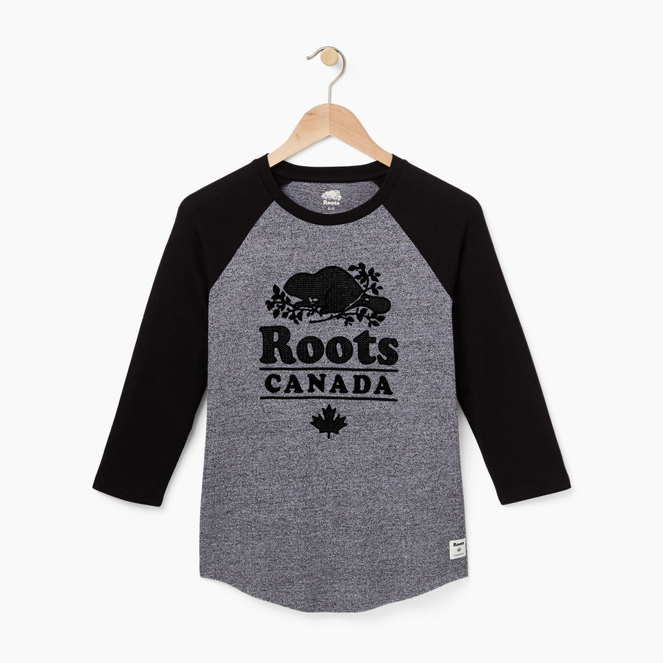 Boys Ringer Raglan Top